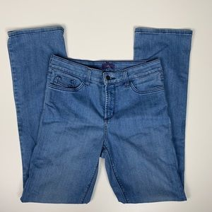 Not Your Daughters Jeans Sz 6 Medium Wash Mid Rise